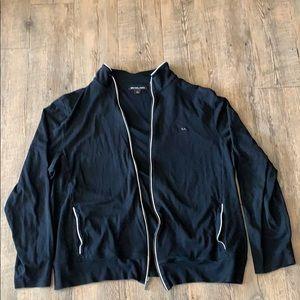 Michael Kors lightweight zip up jacket